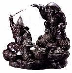 『岩上の大黒恵比寿』
