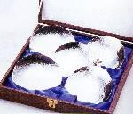 いぶし銀『茶仙』亀甲銘々皿(5枚組)