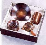 純銅槌目茶器セット ZS-10