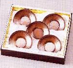 純銅槌目茶器セット ZS-4(茶托)
