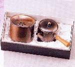 純銅槌目茶器セット ZS-9