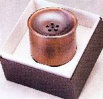 純銅槌目茶器 ZS-3 建水