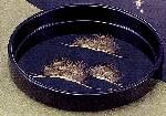 輪島刷毛塗 尺0茶盆